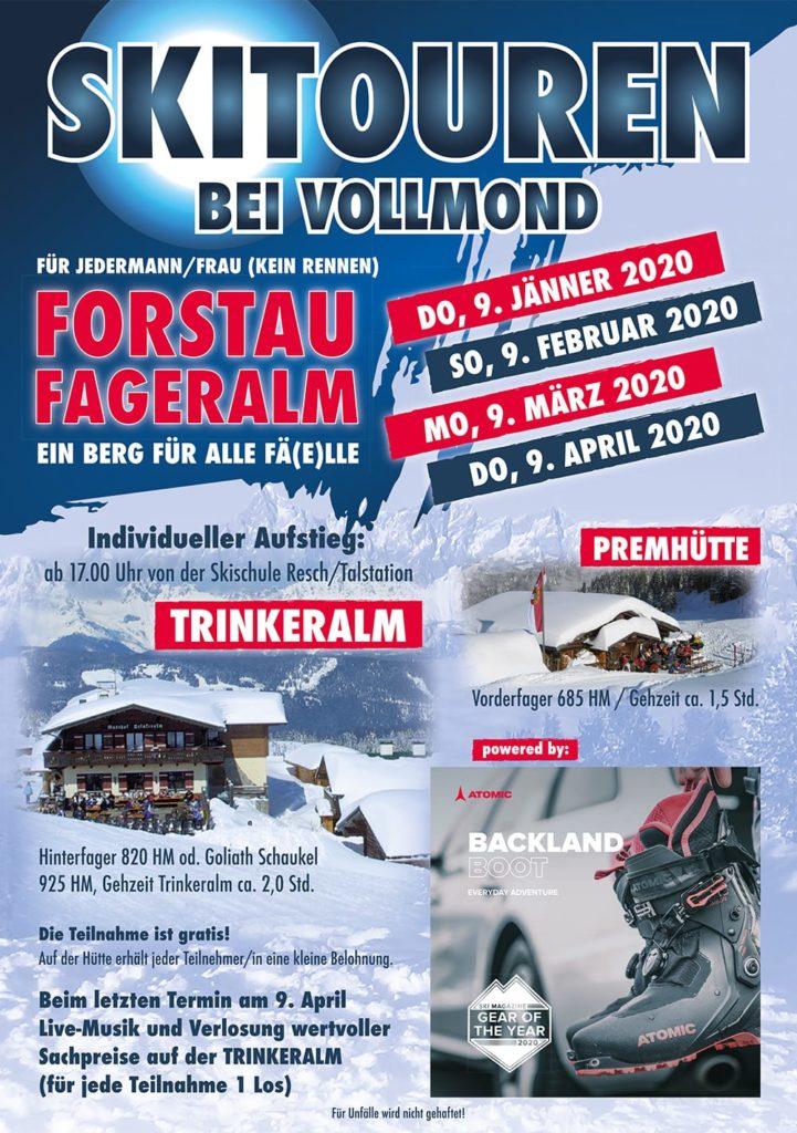 Vollmond Skitour