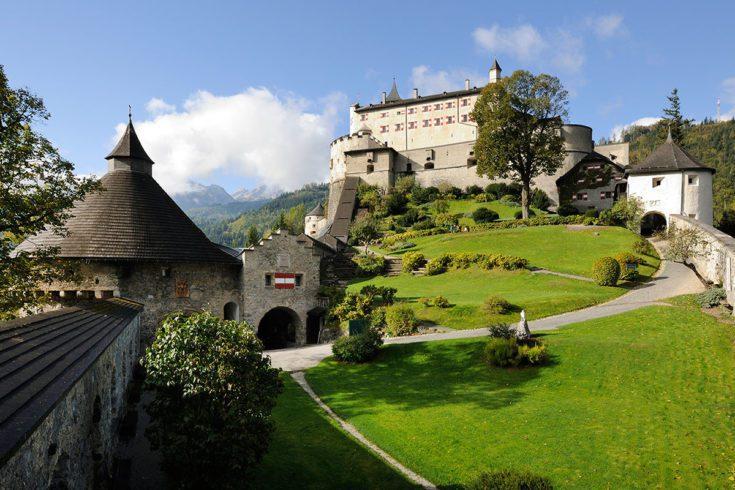 Ausflugsziel Erlebnisburg Hohenwerfen Salzburg Burgen Und Schloesser Betriebsfuehrung Guenter Standl 1
