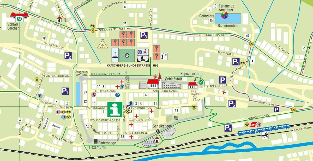 Busparkplätze Tourismusverband Radstadt 1