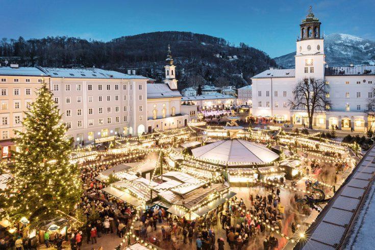 Christkindlmarkt Stadt Salzburg Salzburgerland Tourismus Gulliver Theis 1