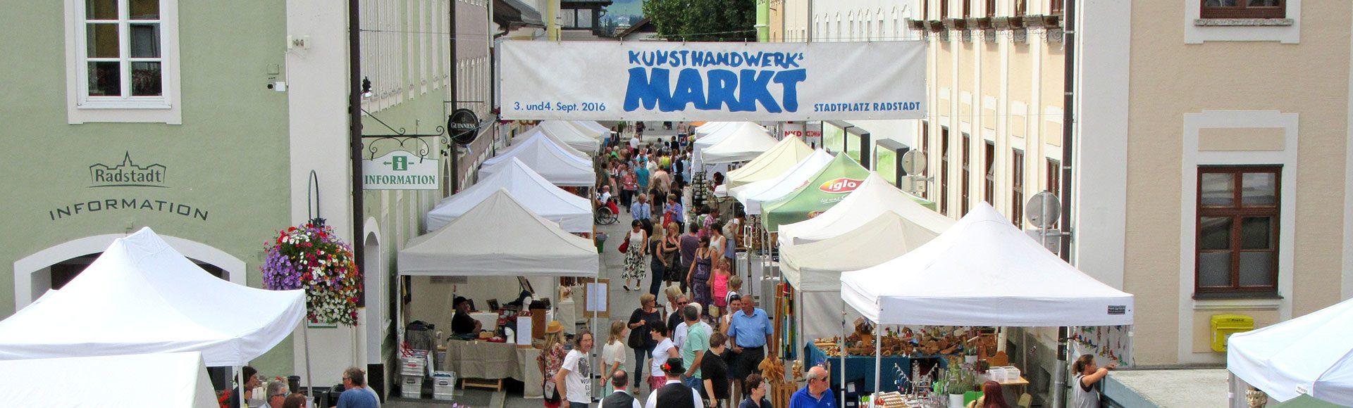 Kunsthandwerksmarkt Radstadt Kulturkreis Das Zentrum 1
