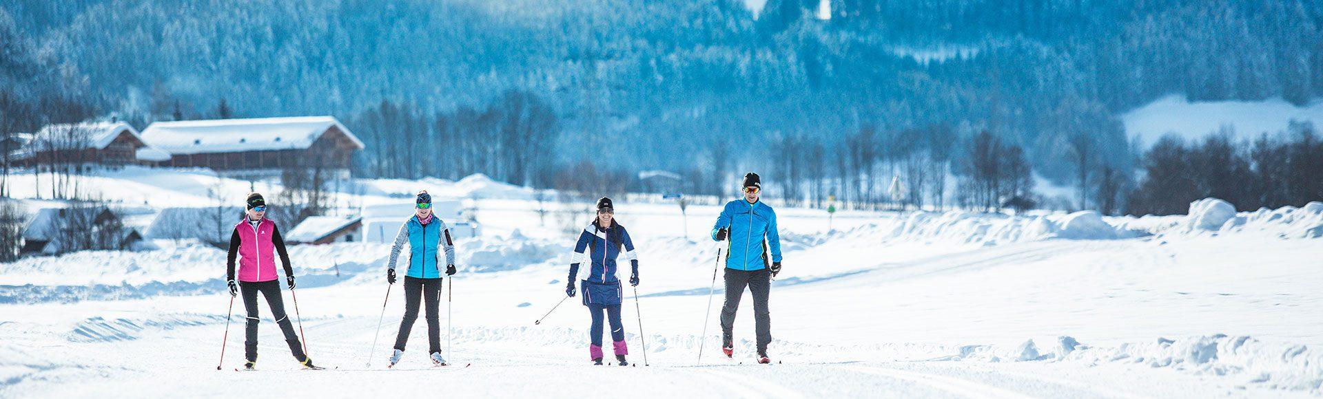 Langlaufen Winterurlaub Tourismusverband Radstadt Markus Rohrbacher 1