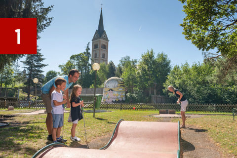 Minigolf Tourismusverband Radstadt Lorenz Masser 1