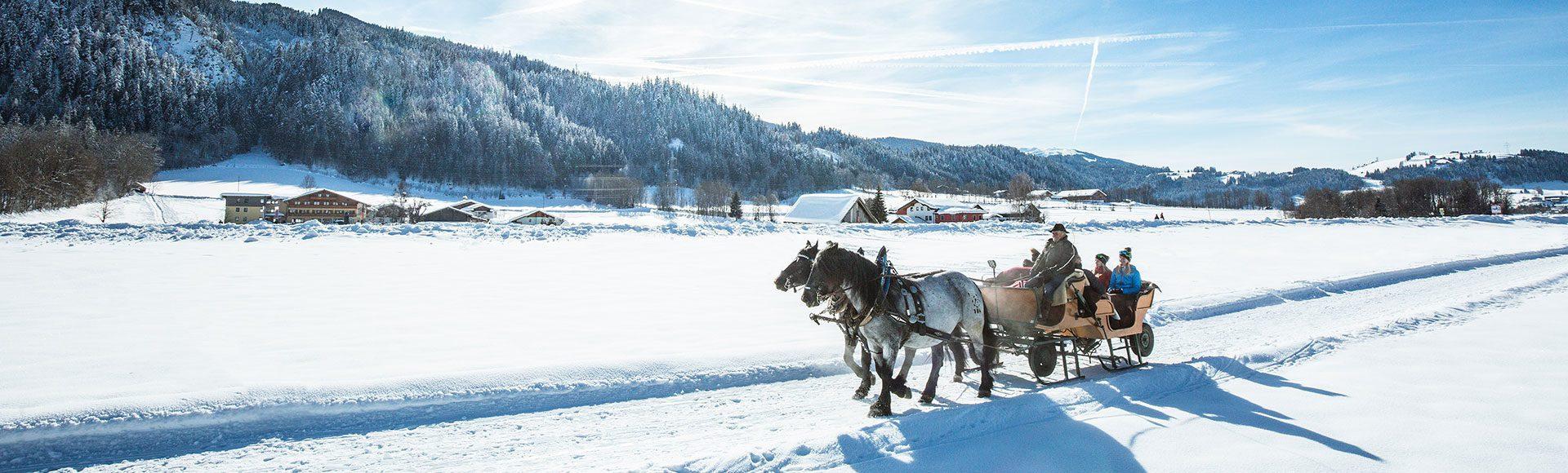 Pferdeschlittenfahrten Tourismusverband Radstadt Markus Rohrbacher 1