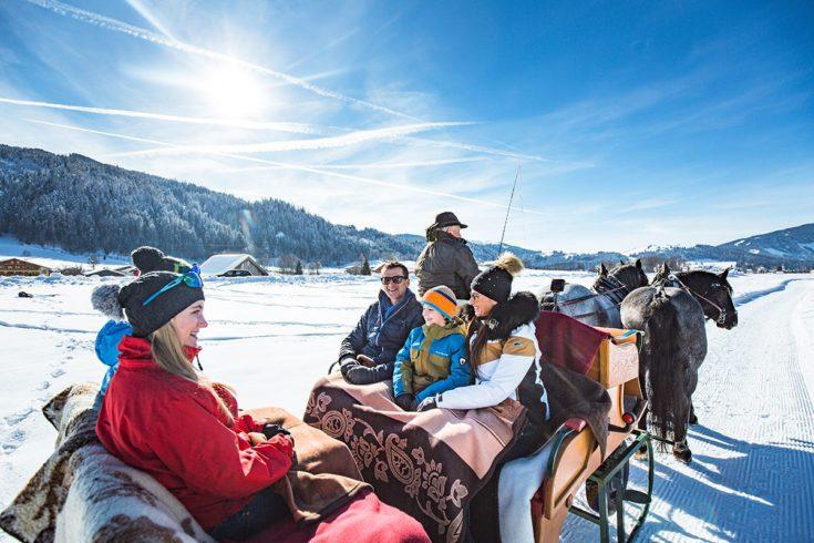 Pferdeschlittenfahrten Tourismusverband Radstadt Markus Rohrbacher 3