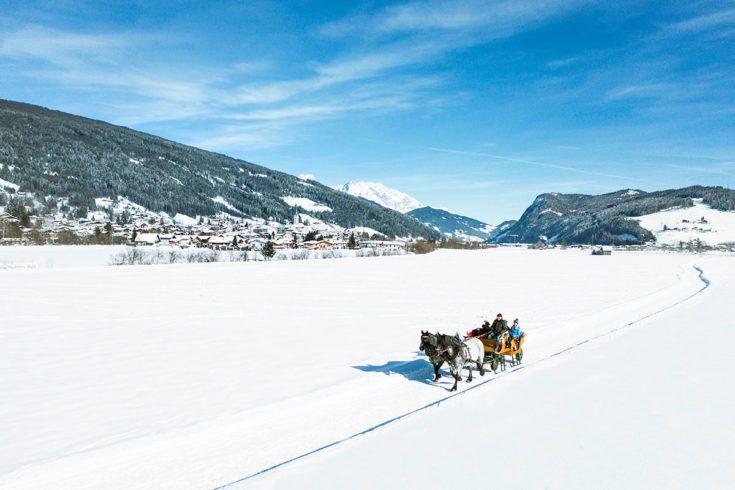 Pferdeschlittenfahrten Tourismusverband Radstadt Markus Rohrbacher 4