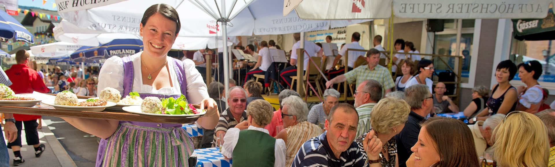 Radstaedter Knoedelfest Tourismusverband Radstadt Thomas Stiegler
