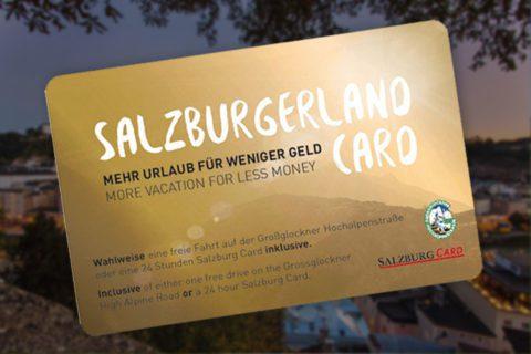 Salzburger Land Card Salzburger Land Tourismus 2