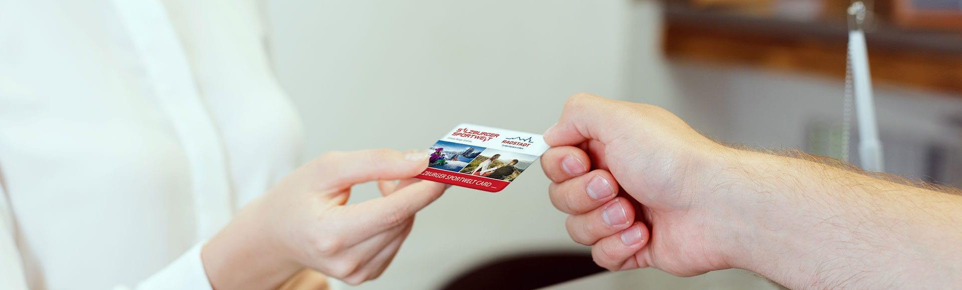Salzburger Sportwelt Card Neu