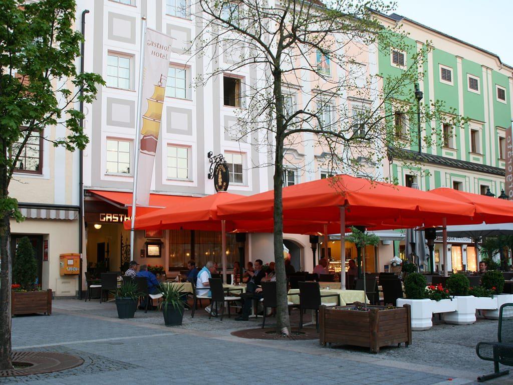 Schiff Ennsradweg Gasthof Hotel Zum Goldenen Schiff