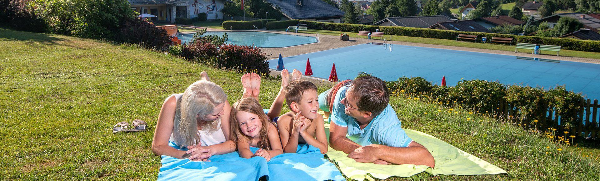 Schwimmen Urlaub Tourismusverband Radstadt Lorenz Masser 1