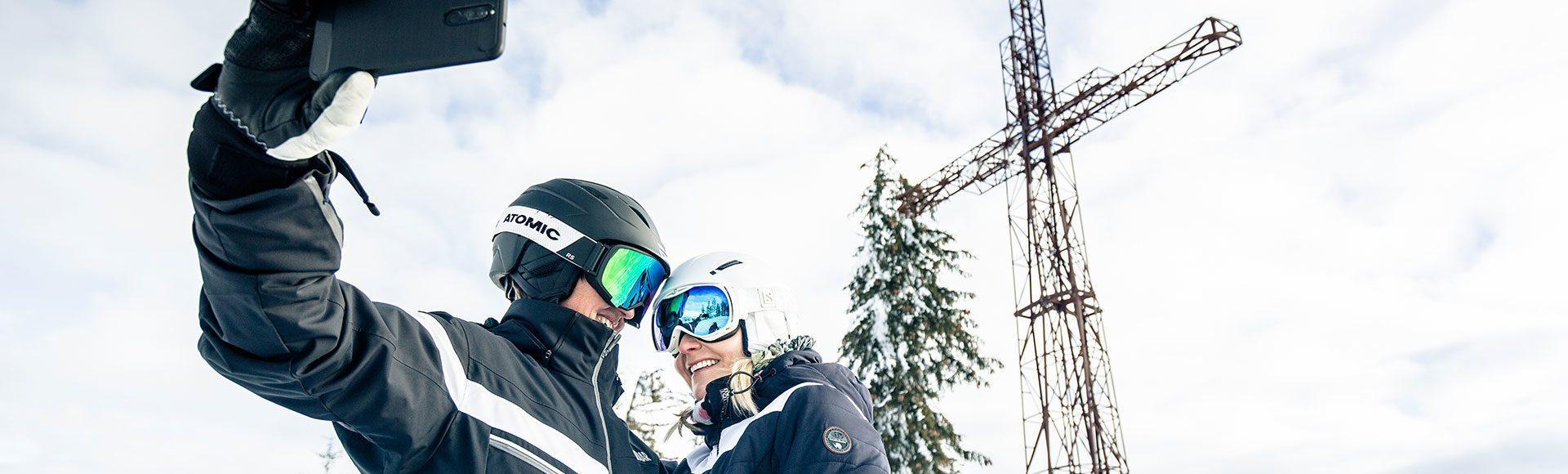 Selfie Skifahren Radstadt Tourismusverband Radstadt Markus Rohrbacher 1