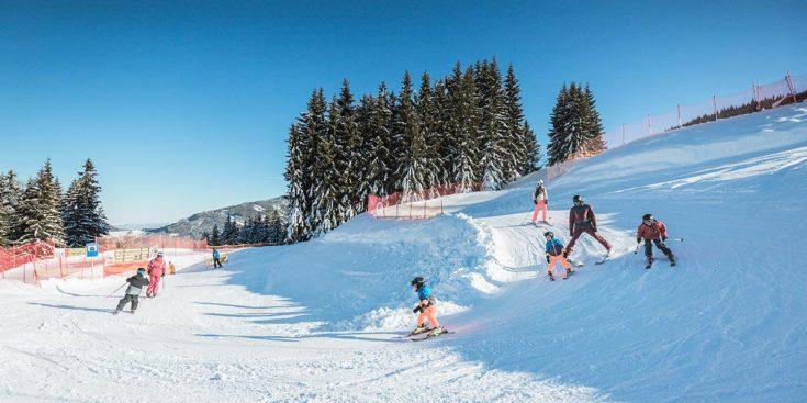 Skifahren Familie Tourismusverband Radstadt Markus Rohrbacher 2