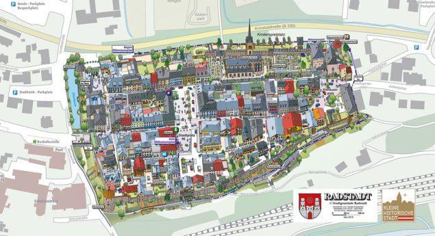Stadtplan Radstadt Stadtgemeinde Radstadt Gerald Kronsteiner 3