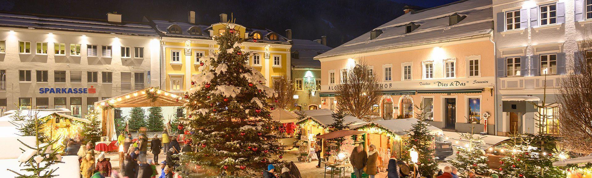 Weihnachtsmarkt Tourismusverband Radstadt Lorenz Masser 1