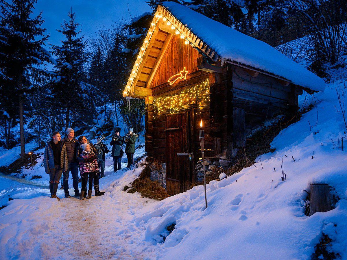 Weihnachtswanderung Radstadt Tourismusverband Radstadt Lorenz Masser 2
